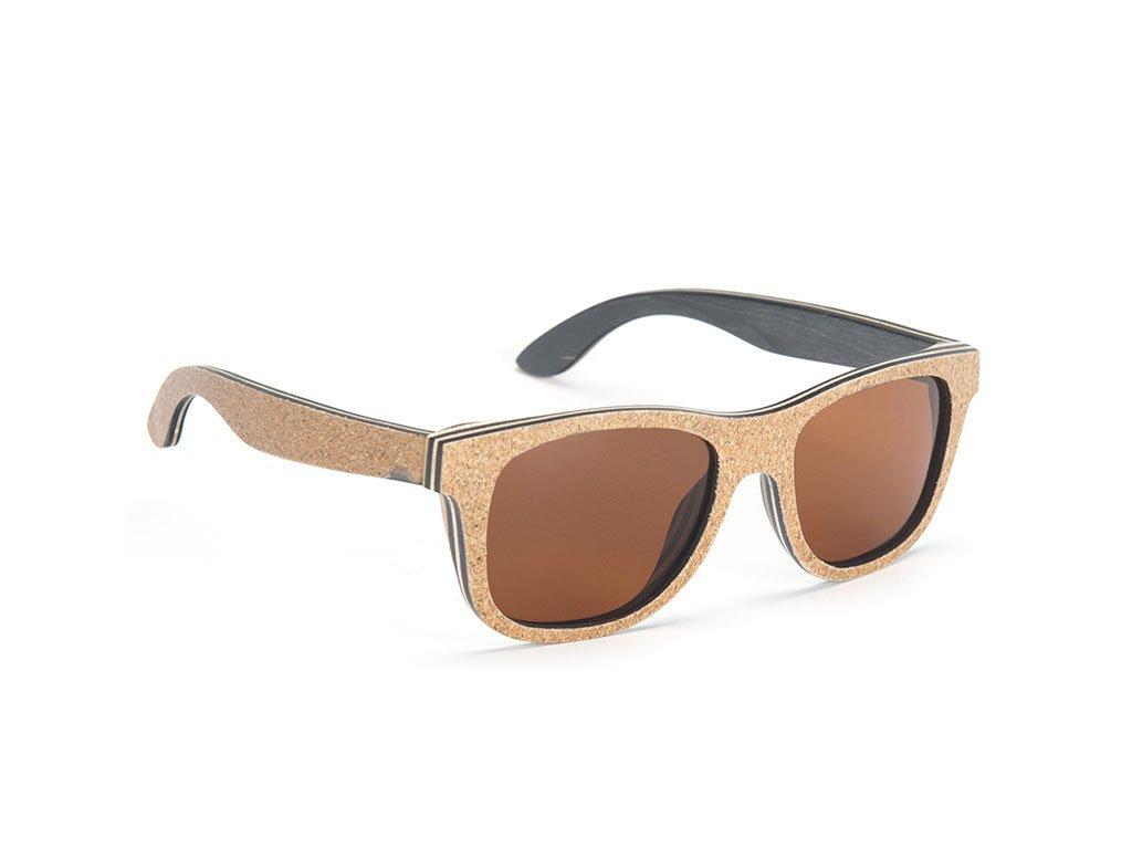 Dřevěné brýle Bobo Bird W-AG020 s hnědými skly